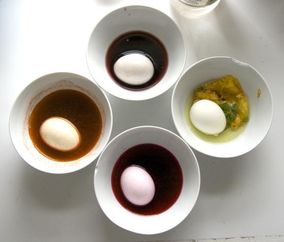Soaking the eggs