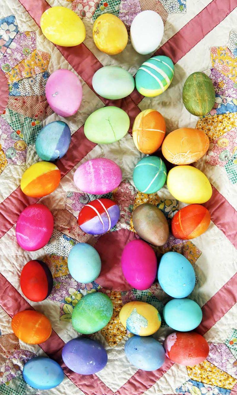 Quilt eggs