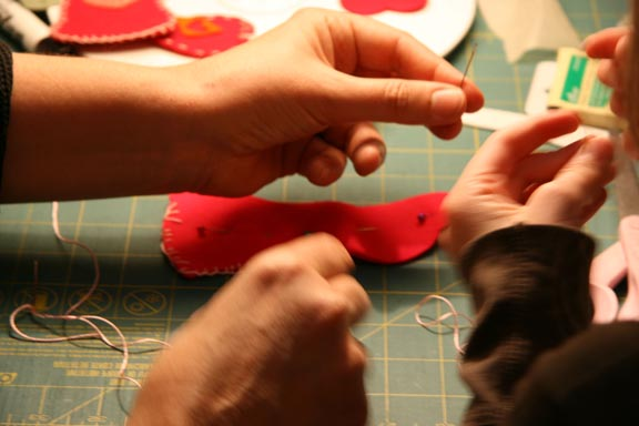 Kids Hand-Sewing Workshop - My Little Hen