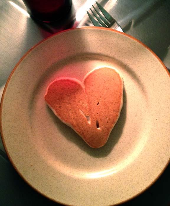 Blake's pancake.